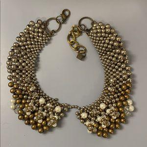Anthropologie collar necklace